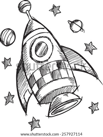 rocket drawings erik d39s portfolio on shutterstock drawings rocket