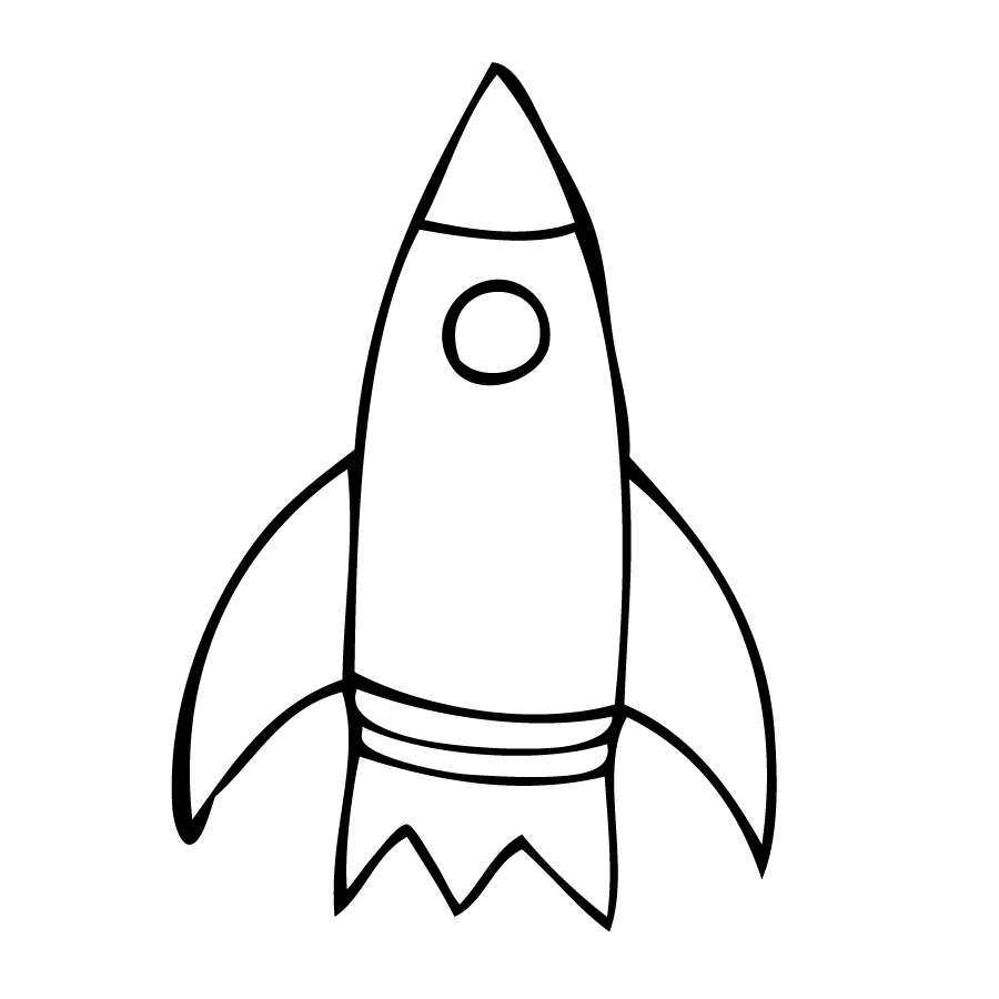 rocket drawings rockets line drawing clipart best rocket drawings