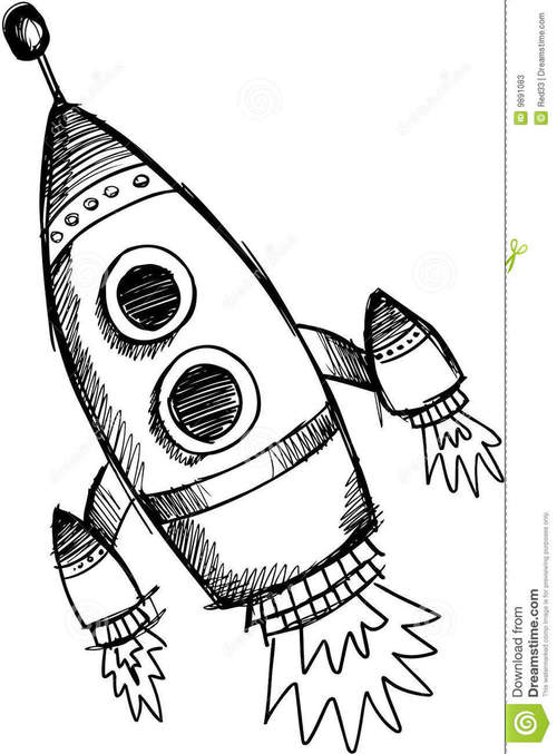 rocket drawings simple rocket ship drawing at getdrawings free download drawings rocket