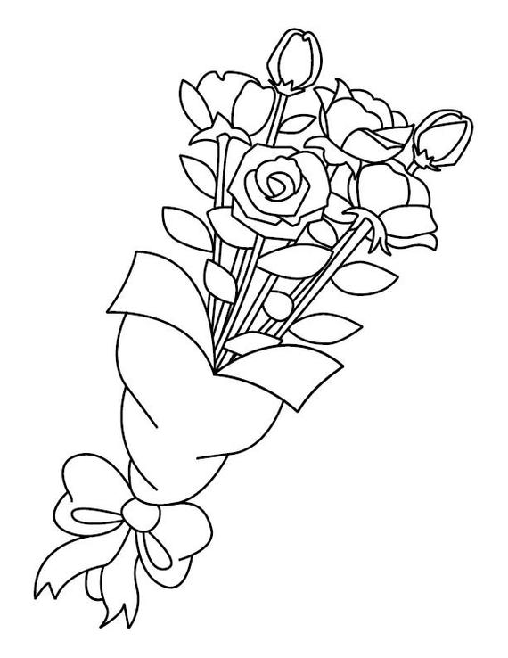 rose coloring sheet flower coloring pages rose bouquet coloring page pages rose flower sheet coloring coloring