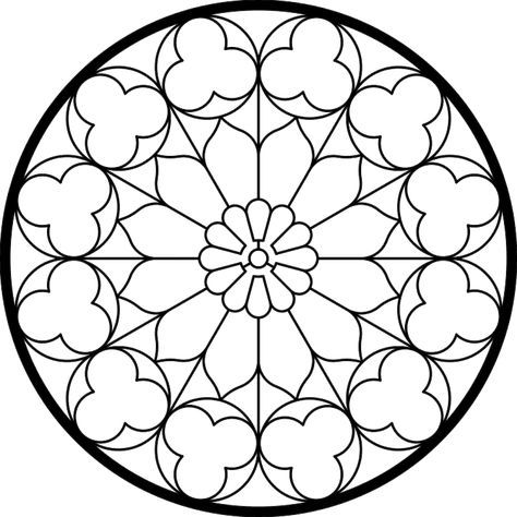rose stained glass coloring pages 8 best images of printable roses designs printable rose stained rose coloring glass pages