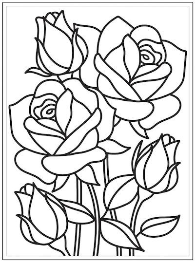 rose stained glass coloring pages beauty and the beast stained glass window coloring page coloring pages glass rose stained