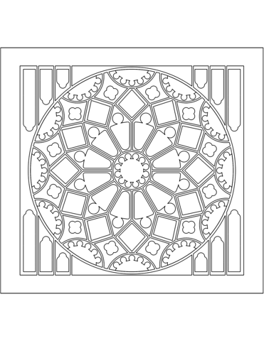 rose stained glass coloring pages clip art rose windows coloring pages stained glass rose glass coloring stained pages