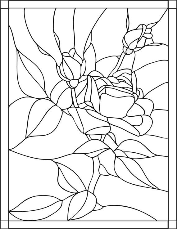 rose stained glass coloring pages darice 425 x 575 mosaic rose embossing folder stained pages coloring glass rose
