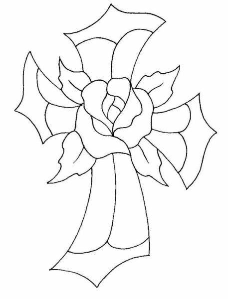 rose stained glass coloring pages don39t eat the paste coloring page rose window at saint pages rose glass coloring stained