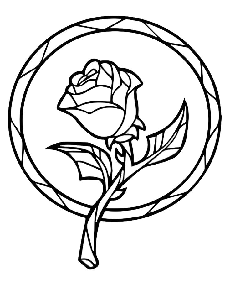 rose stained glass coloring pages hey i found this really awesome etsy listing at https glass rose pages coloring stained