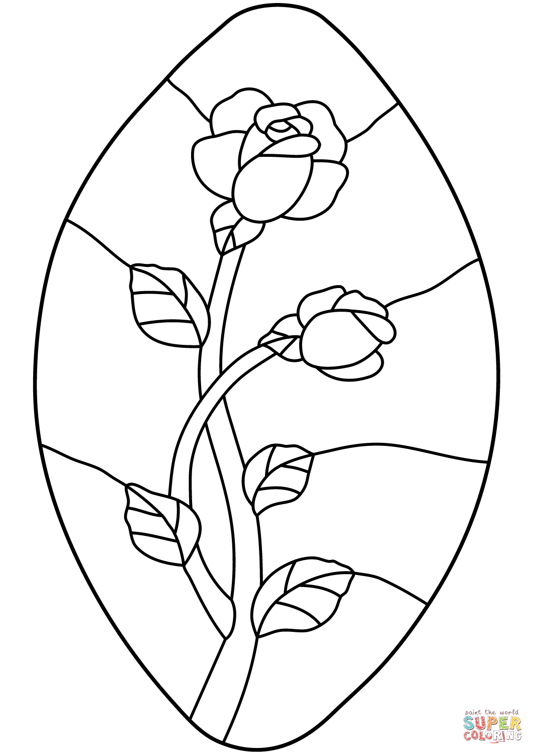 rose stained glass coloring pages stained glass rose coloring page by richard67915 on deviantart stained pages glass coloring rose