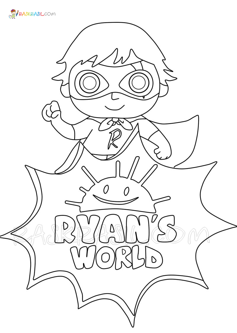 ryans world printable coloring pages ryan39s toysreview coloring pages featuring ryan39s world ryans world printable coloring pages