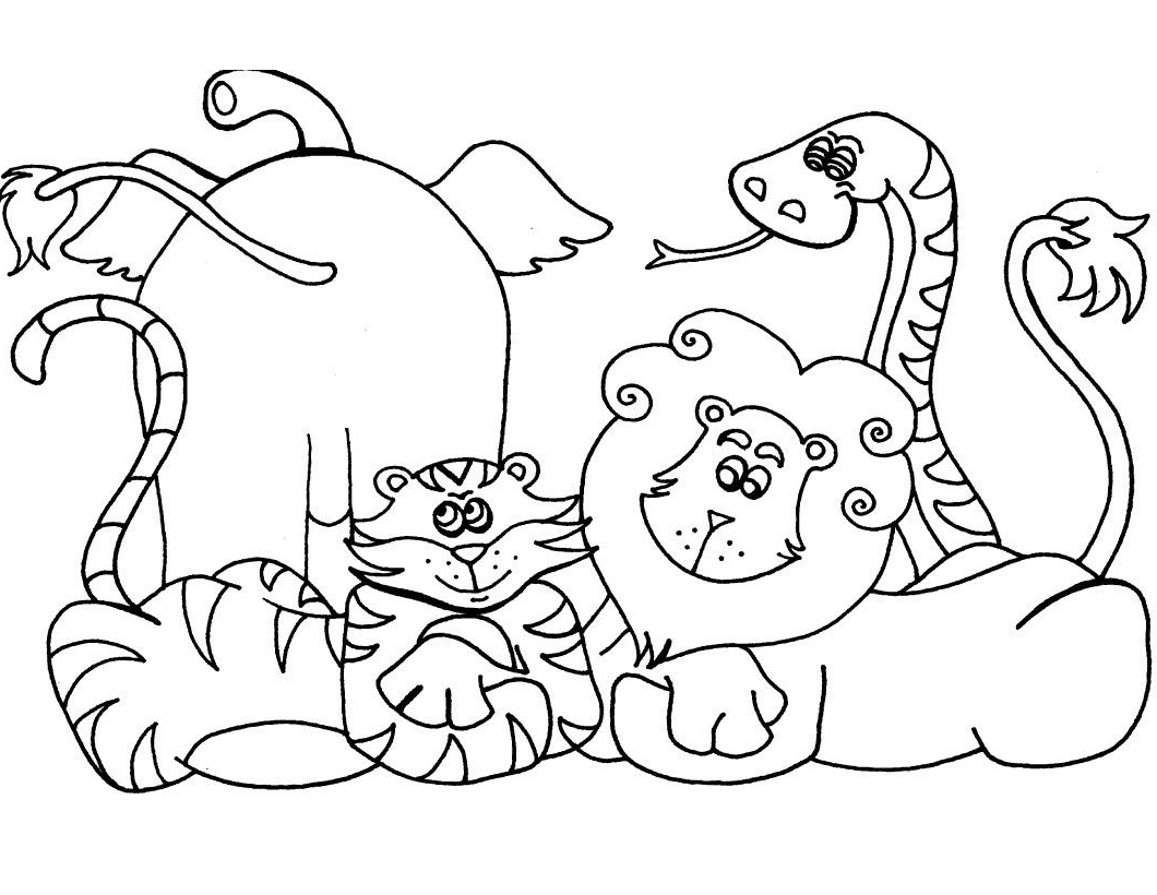 safari animal coloring pages safari coloring pages to download and print for free pages safari animal coloring
