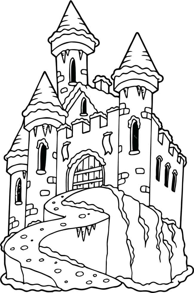 sand castle coloring pictures beach coloring pages castle pictures coloring sand