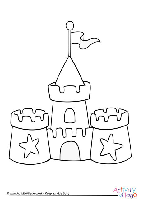 sand castle coloring pictures nicole39s free coloring pages sandcastles coloring pages castle pictures coloring sand