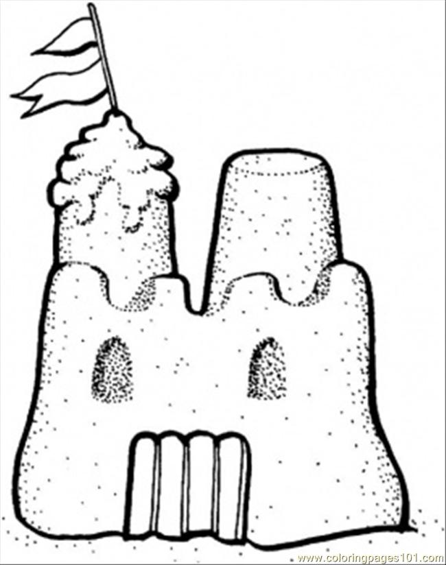 sand castle coloring pictures sandcastle coloring pages coloring pages to download and sand castle coloring pictures
