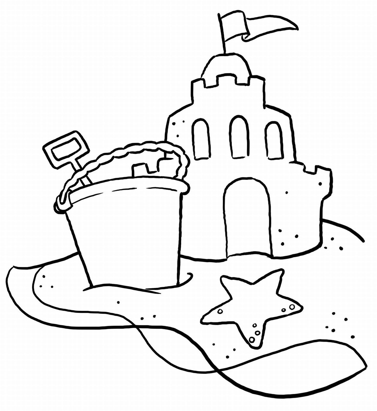 sand castle coloring pictures sandcastle coloring pages coloring pages to download and sand pictures coloring castle