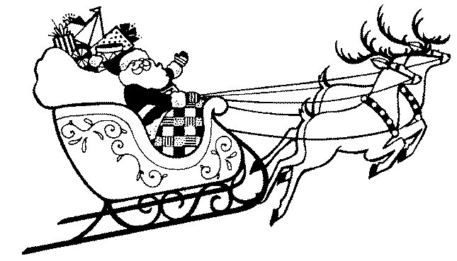 santa and his sleigh coloring pages santa sleigh coloring pages coloring home santa coloring his sleigh pages and