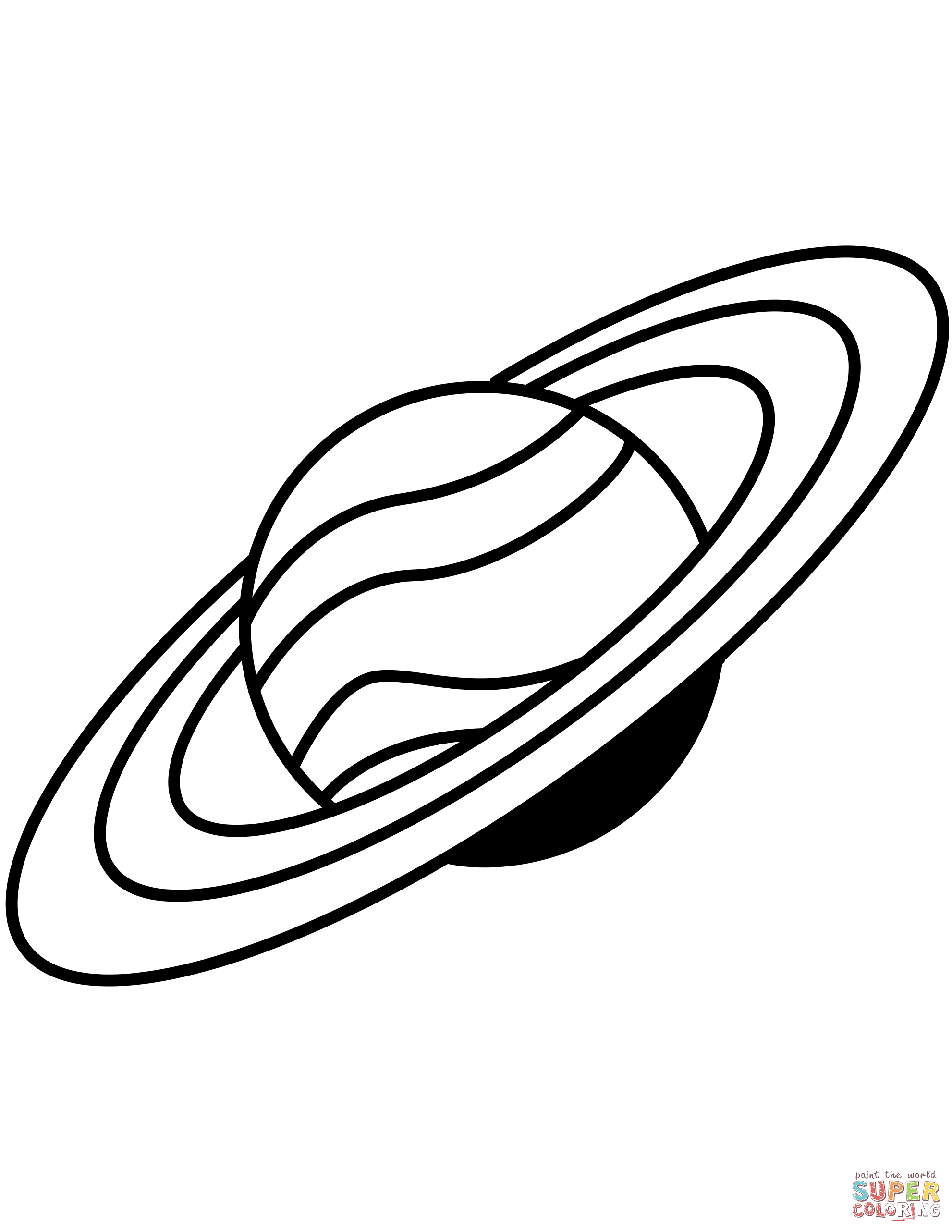 saturn colouring page printable pictures of saturn free download on clipartmag colouring saturn page