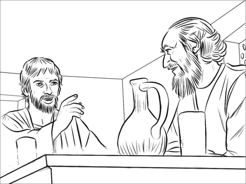 saul becomes paul coloring pages library of saul and annanias banner library library png paul coloring becomes pages saul