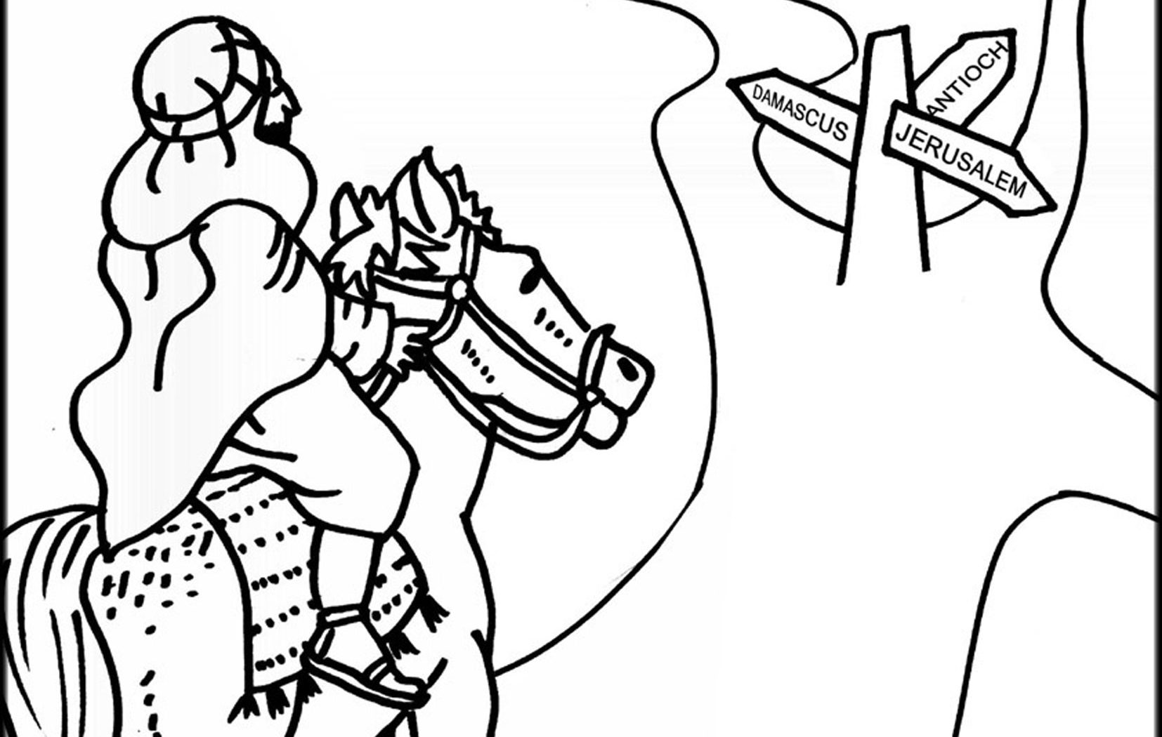 saul becomes paul coloring pages paul missionary journeys coloring pages at getcolorings paul saul coloring becomes pages