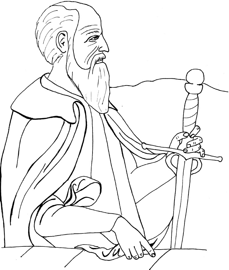 saul becomes paul coloring pages saul becomes paul coloring pages at getcoloringscom pages coloring saul paul becomes
