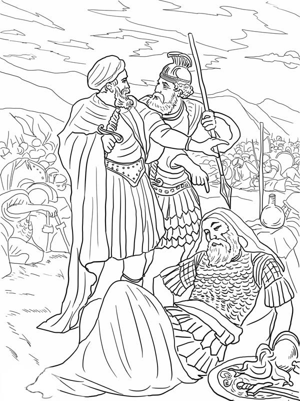 saul becomes paul coloring pages saul told about jesus free colouring pages coloring saul pages paul becomes