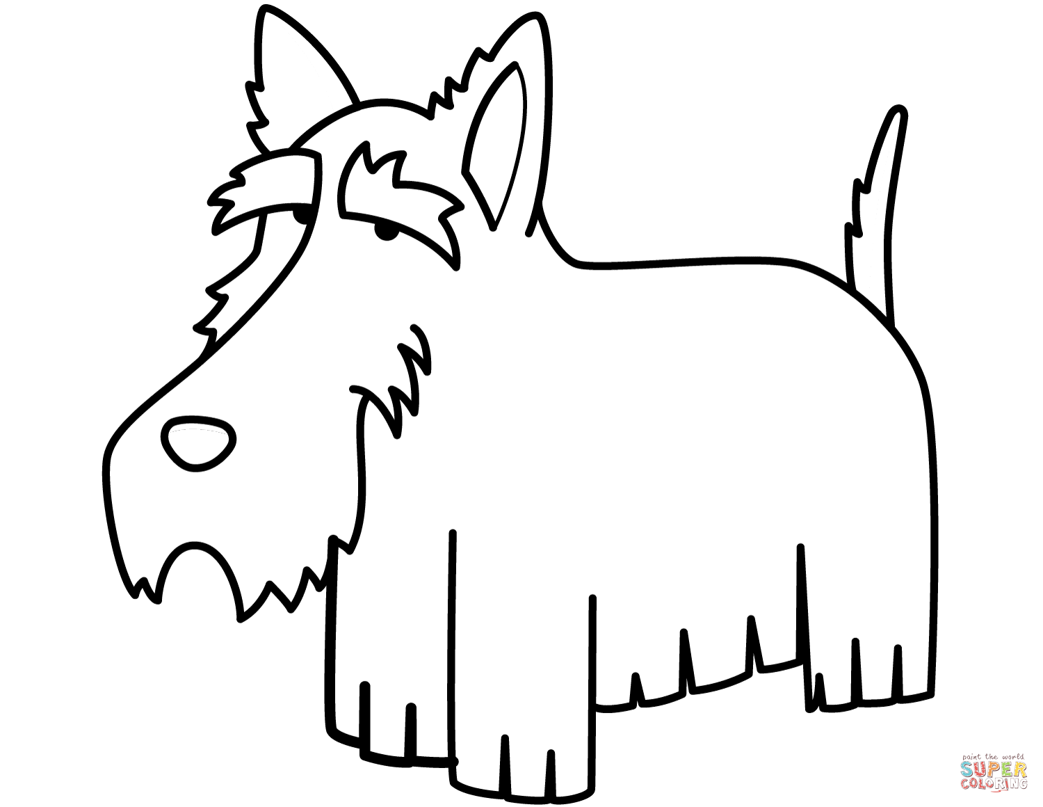 schnauzer coloring pages pet coloring pages schnauzer pages coloring
