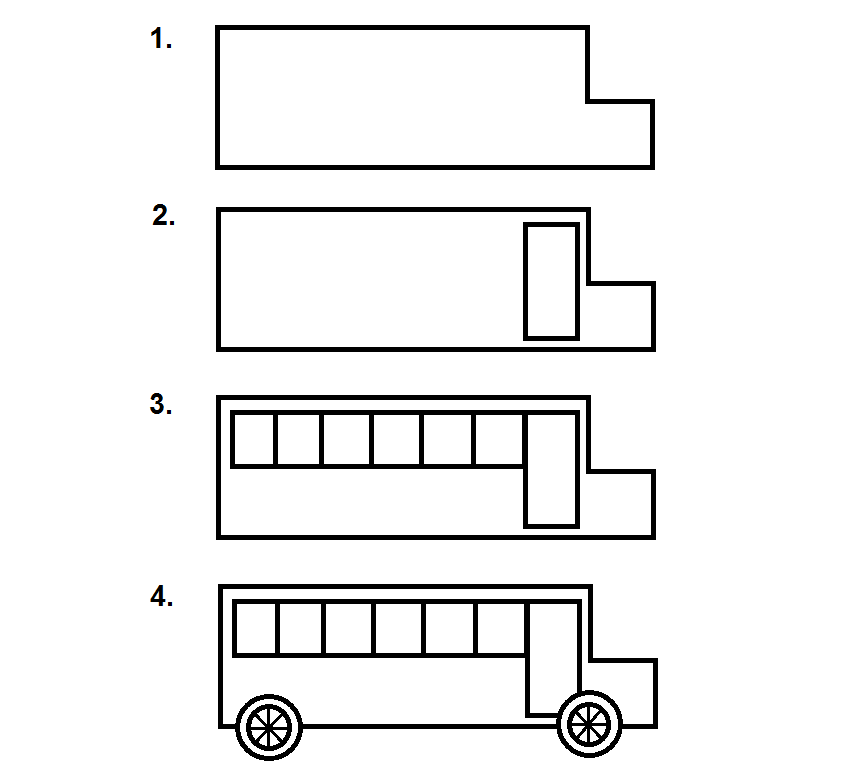 school bus steps how to draw a school bus step by step drawing for kids steps bus school