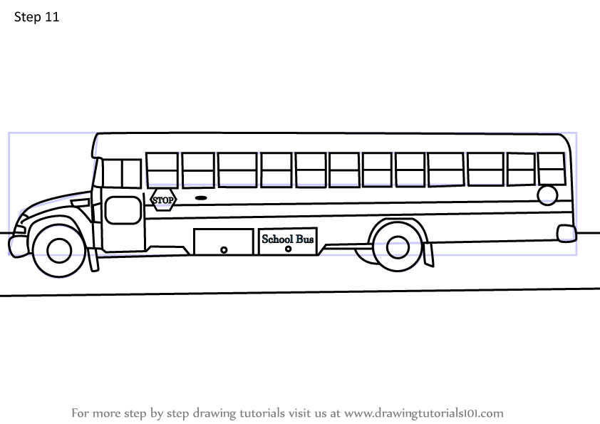 school bus steps how to draw a school bus step by step drawing tutorials steps school bus