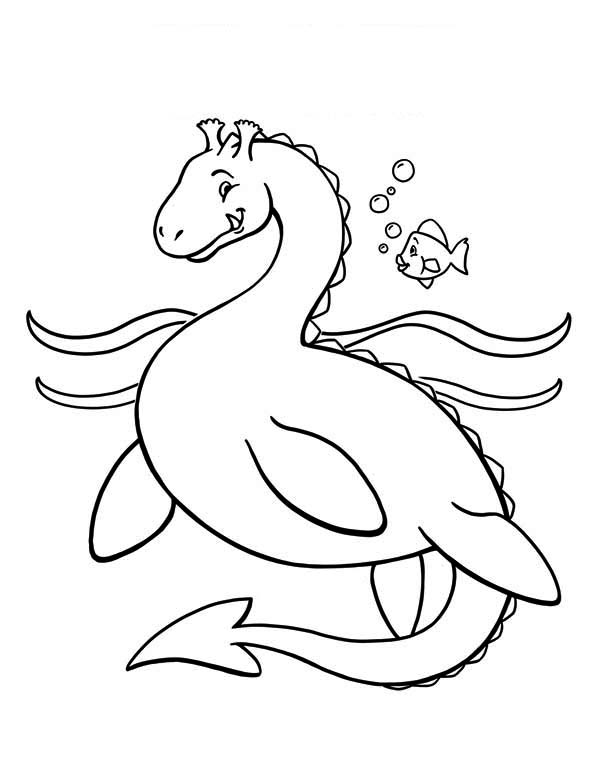 sea dragon coloring sea serpent printable coloring page for kids and adults coloring sea dragon