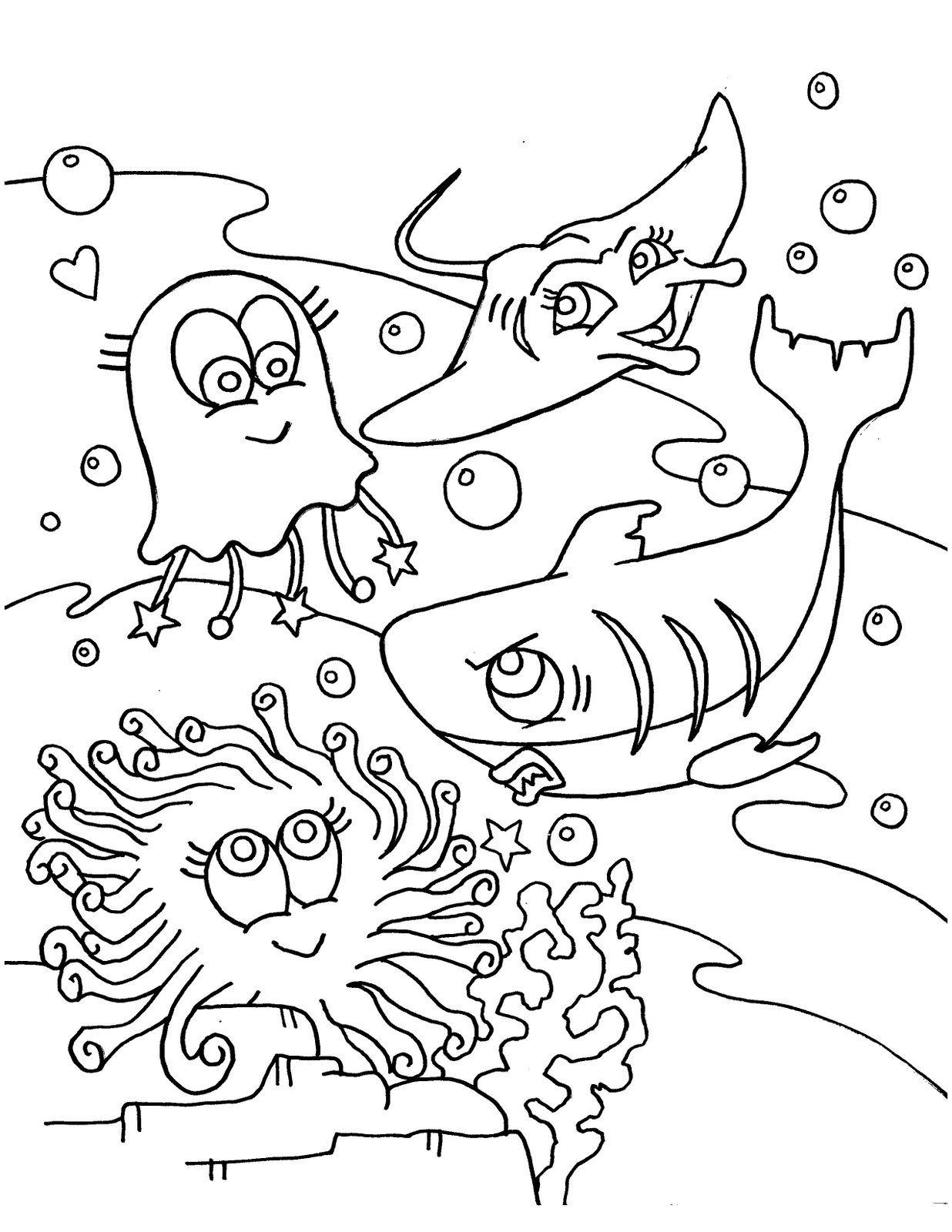 sea life animals coloring pages sea animals coloring pages coloring pages for kids life animals pages sea coloring