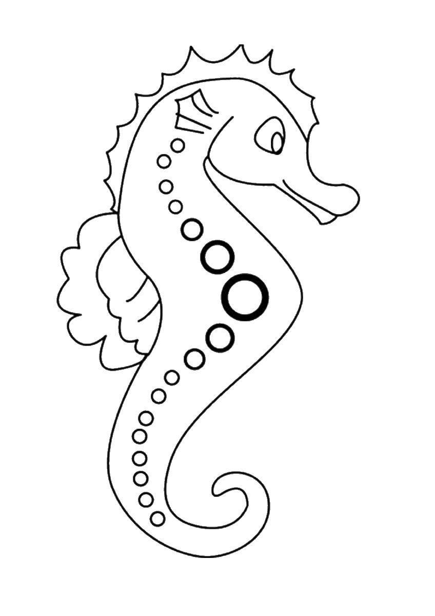 seahorse coloring pages to print printable seahorse coloring pages for kids cool2bkids pages coloring to print seahorse