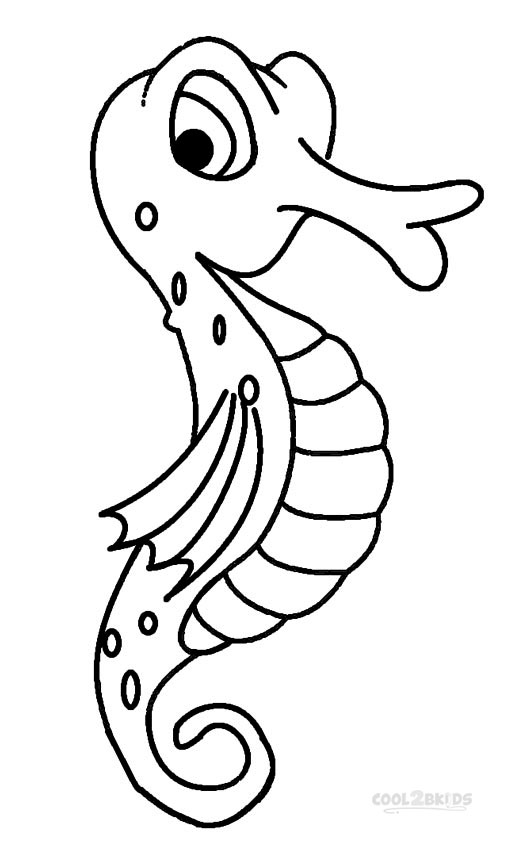 seahorse coloring pages to print printable seahorse coloring pages for kids cool2bkids print pages coloring seahorse to