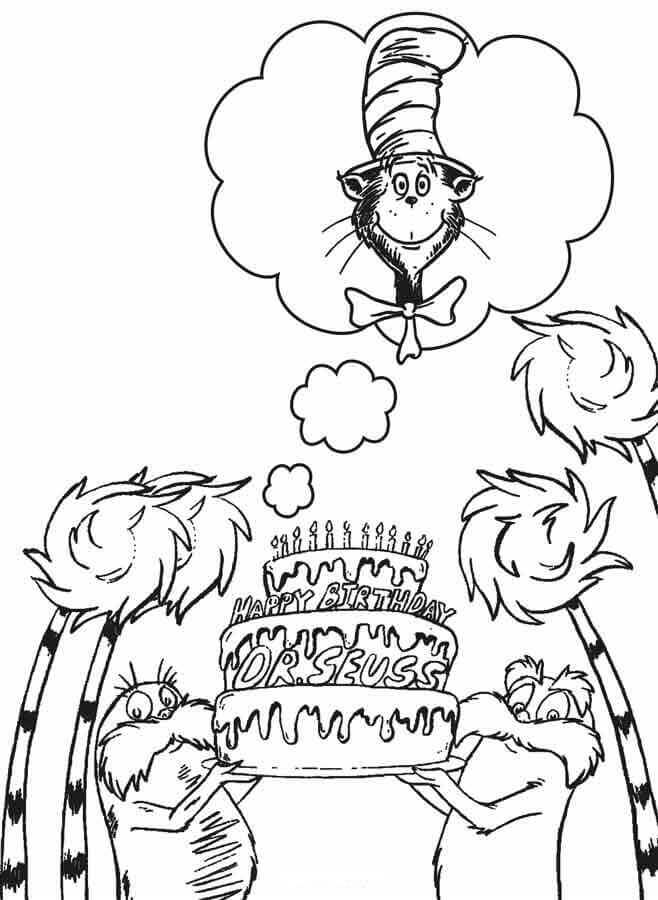 seuss coloring pages dr seuss coloring pages birthday printable seuss coloring pages