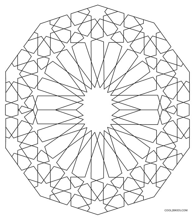 shapes images for coloring free printable geometric coloring pages for adults coloring shapes images for