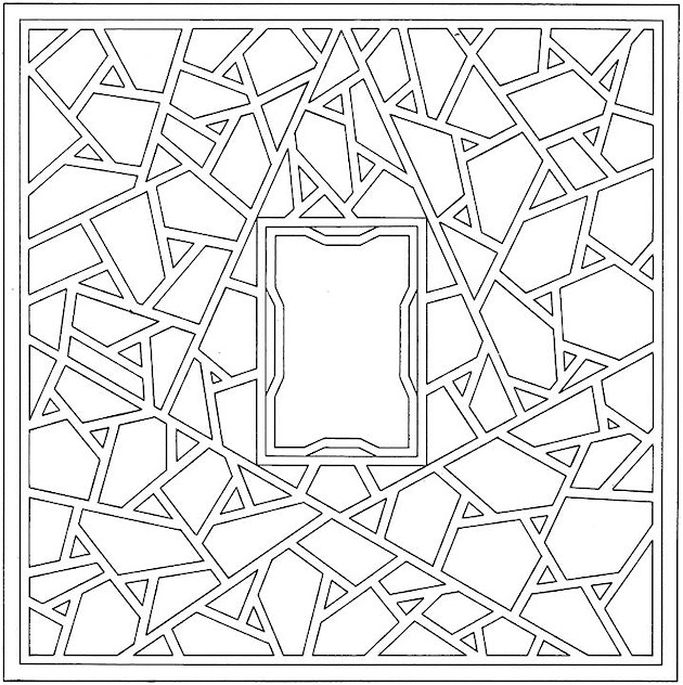shapes images for coloring free printable geometric coloring pages for adults for shapes images coloring