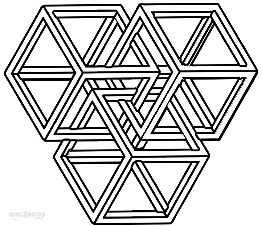 shapes images for coloring free printable geometric coloring pages for kids coloring shapes for images