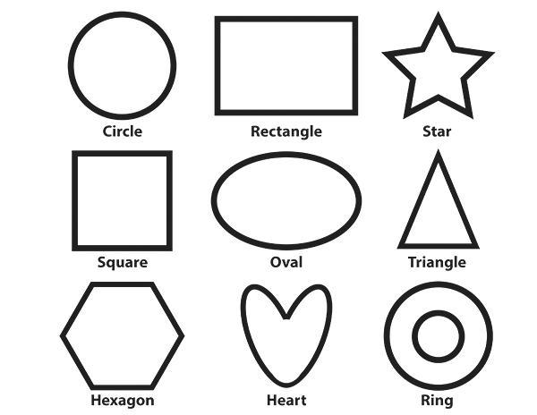 shapes images for coloring printable shapes coloring pages for kids shapes coloring for images