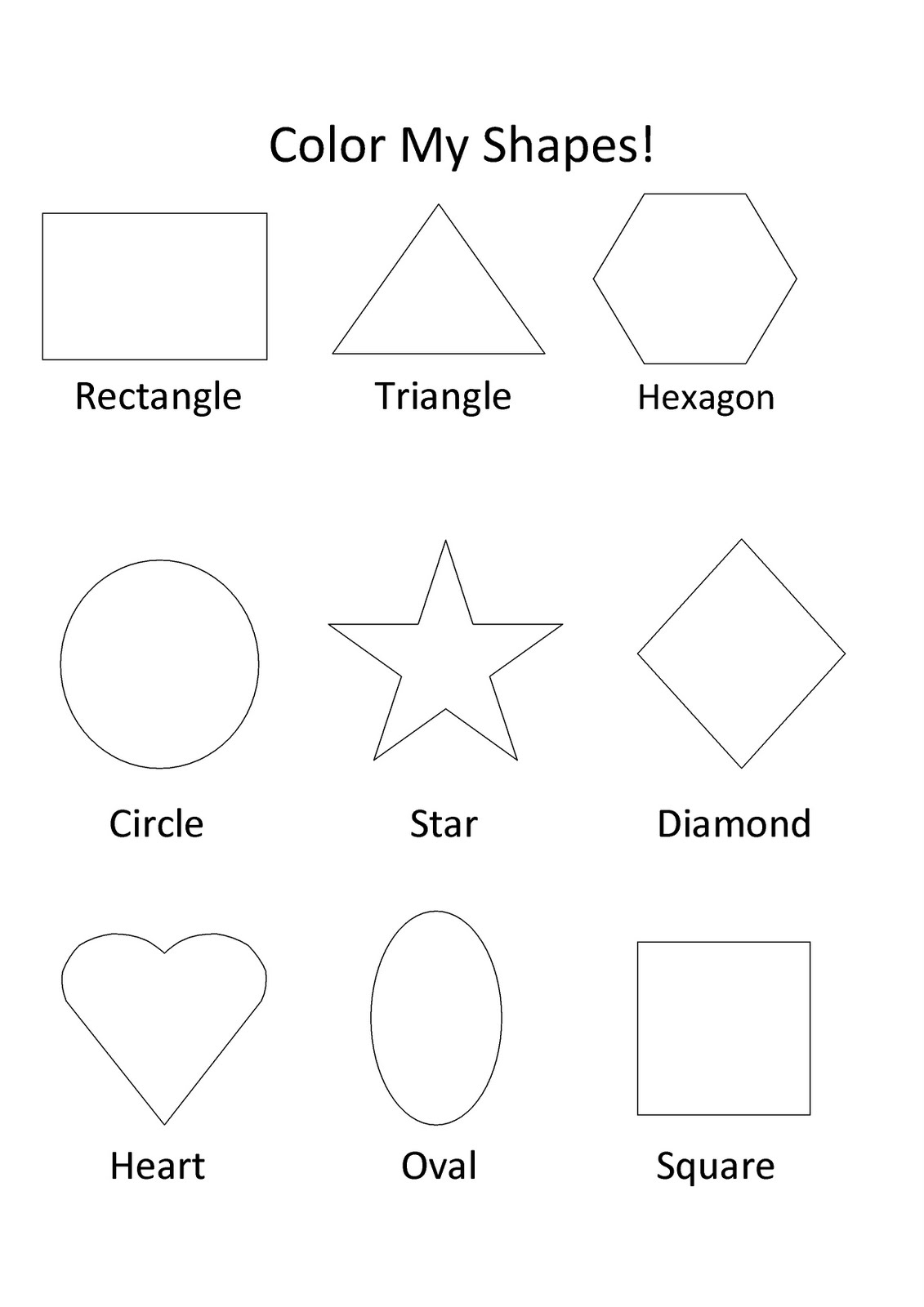 shapes images for coloring shapes coloring pages printable the neighborhood moms shapes for coloring images