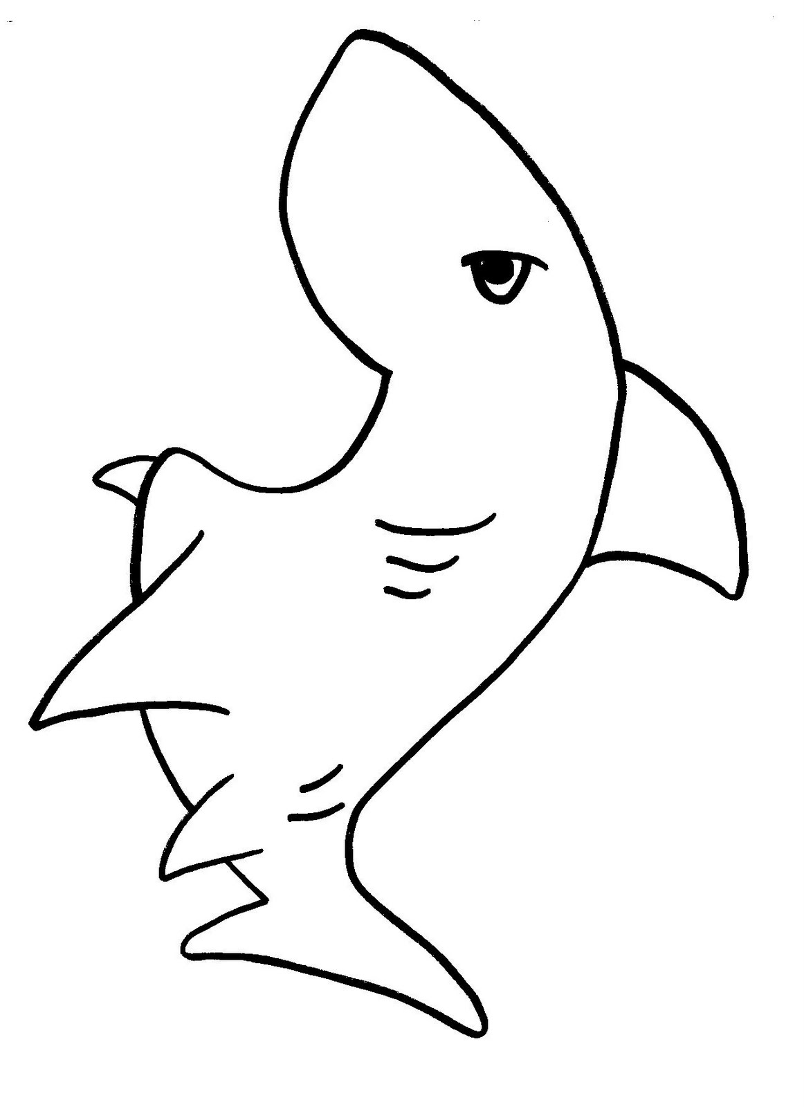 shark picture to color 33 free shark coloring pages printable color shark picture to