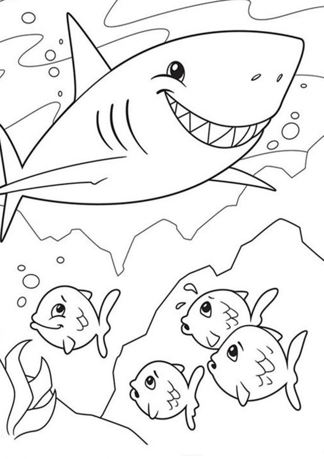 shark picture to color big mouth shark coloring page free printable coloring picture to shark color
