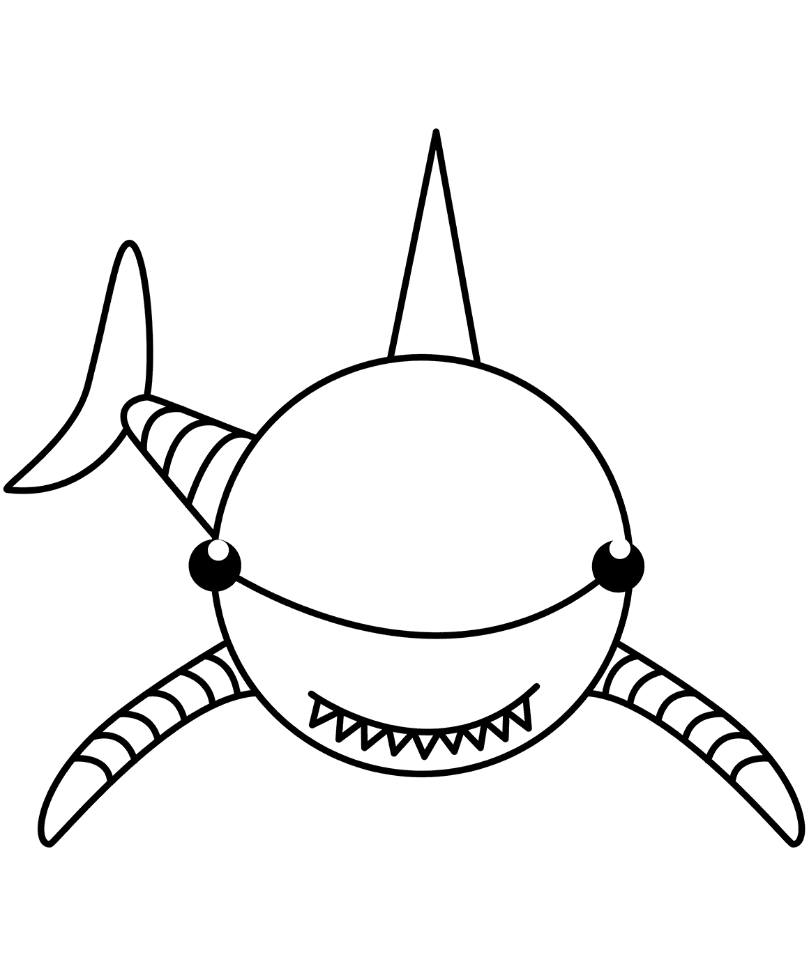 shark picture to color top 20 shark coloring pages for your little ones shark picture color to