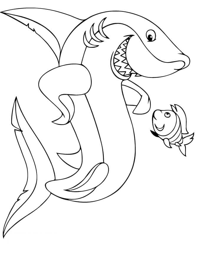 sharks to color shark coloring pages for preschoolers at getdrawings sharks color to
