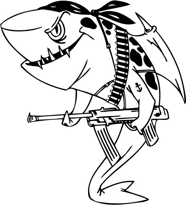 sharks to color shark drawing for kids at getdrawings free download color sharks to