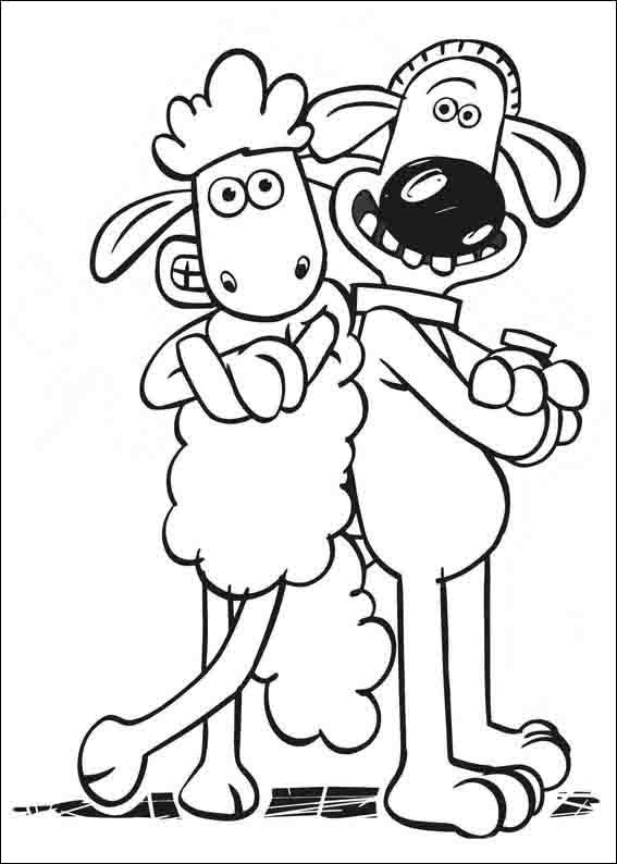 shaun the sheep coloring pages free shaun the sheep coloring pages for kids printable free shaun pages free coloring the sheep