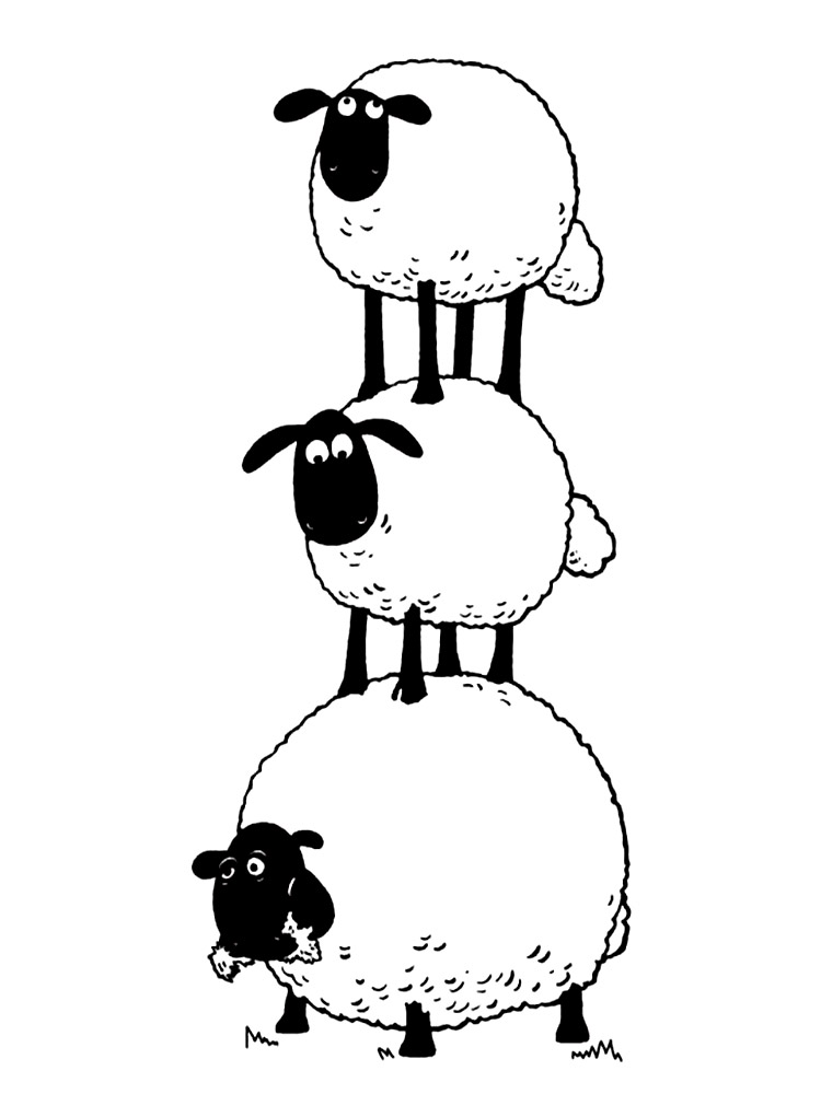 shaun the sheep coloring pages free timmy play football in shaun the sheep coloring page the coloring sheep shaun pages free