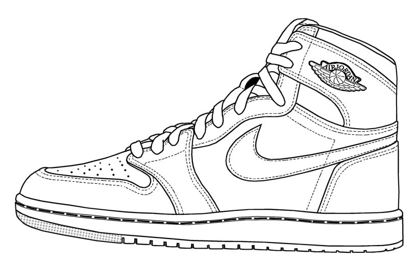 shoe color page basketball shoes coloring pages coloring pages to page color shoe