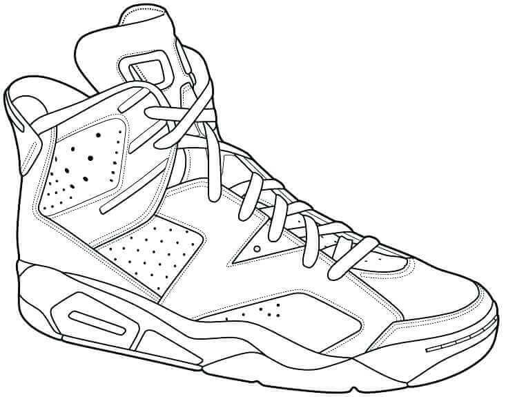 shoe color page shoe print drawing at getdrawings free download shoe page color