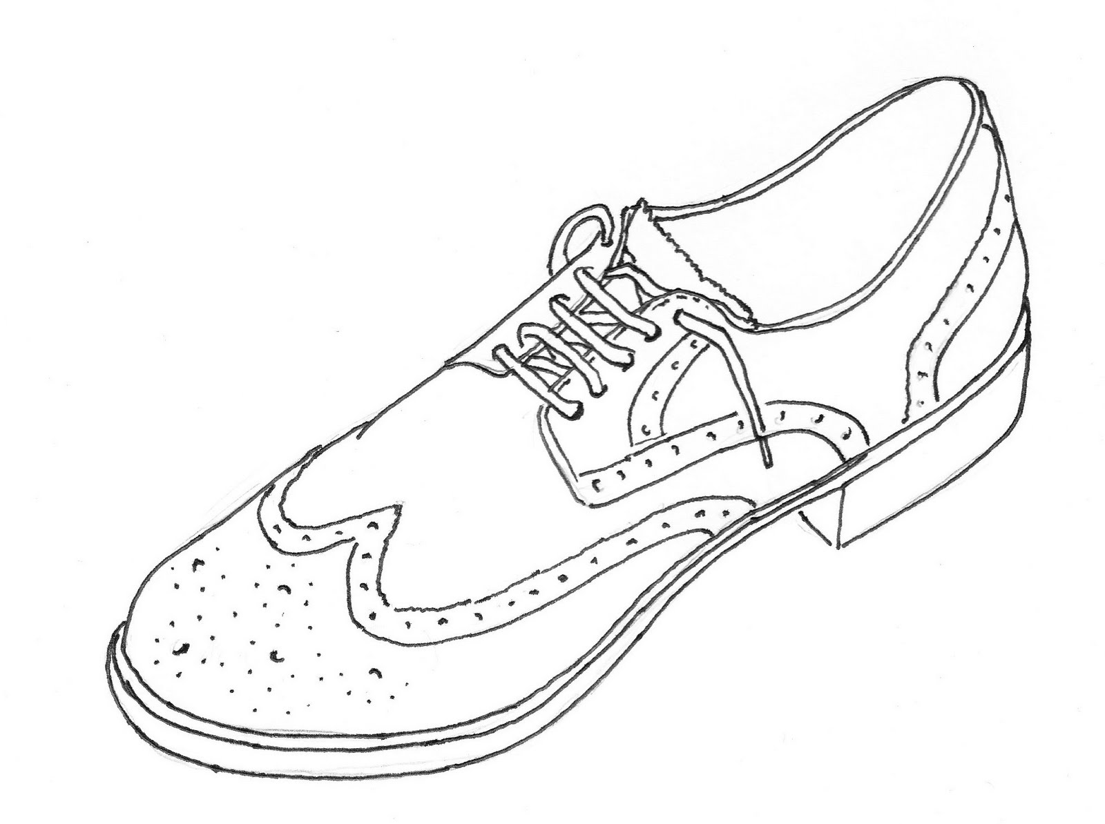 shoes to draw dress shoes drawing at getdrawings free download to draw shoes