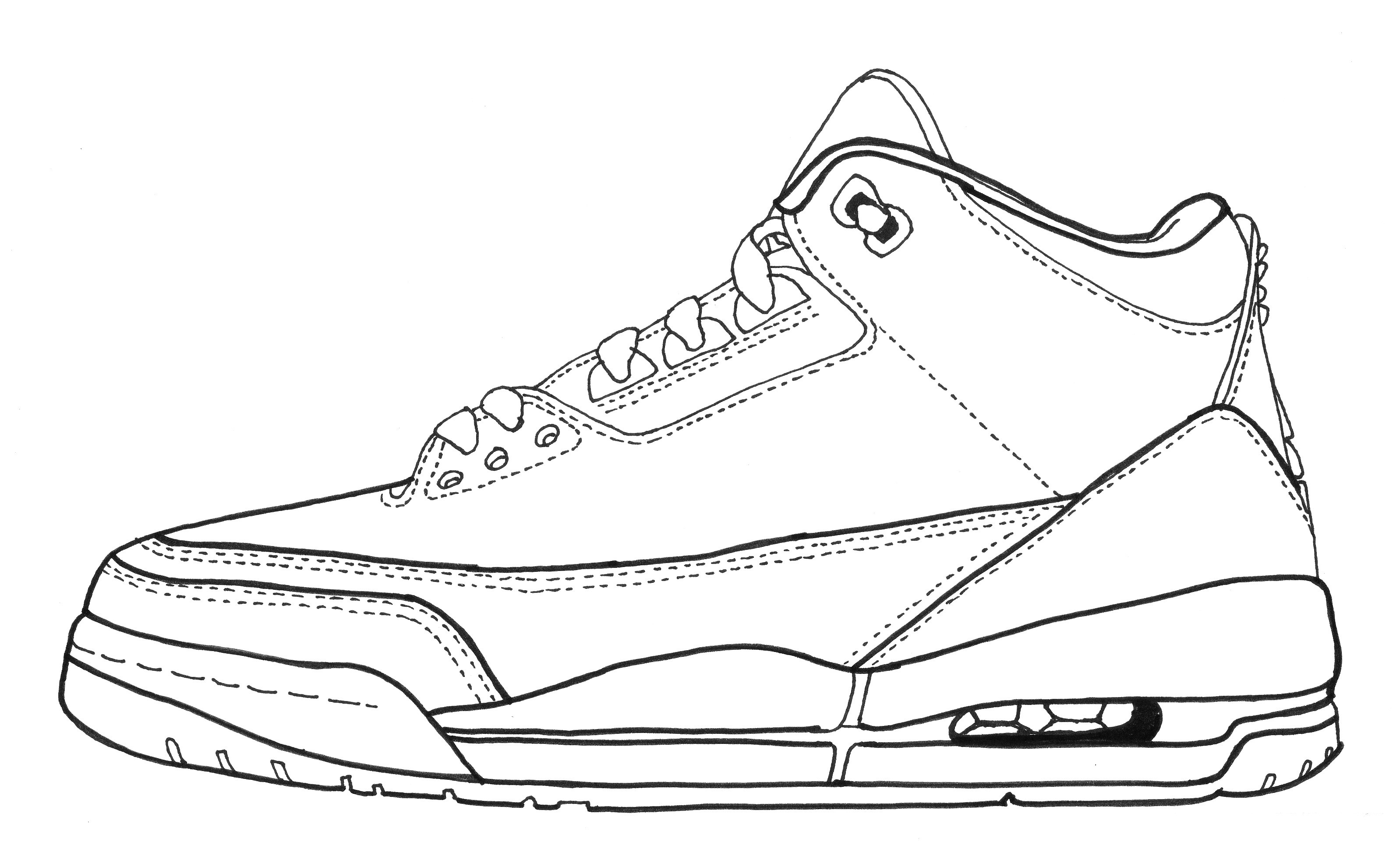 shoes to draw running shoe drawing at getdrawings free download draw to shoes