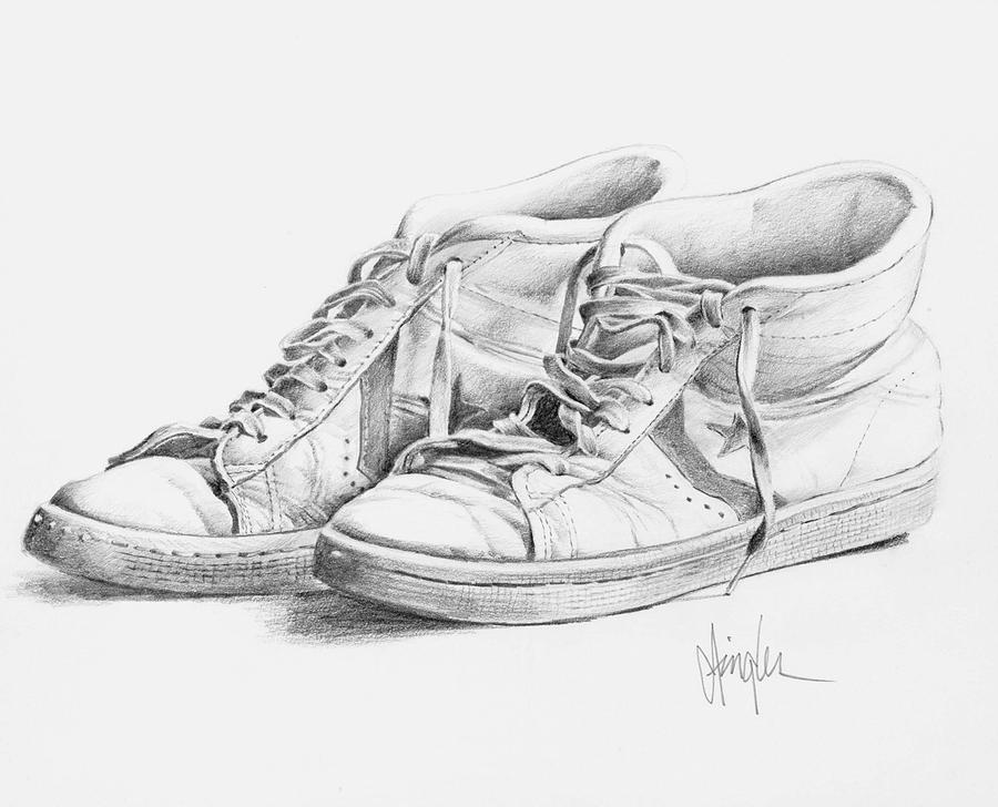 shoes to draw shoe drawing jordans at paintingvalleycom explore draw to shoes