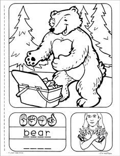sign language coloring sheets asl coloring page for the sign 39city39 deafedhub sign sheets sign coloring language