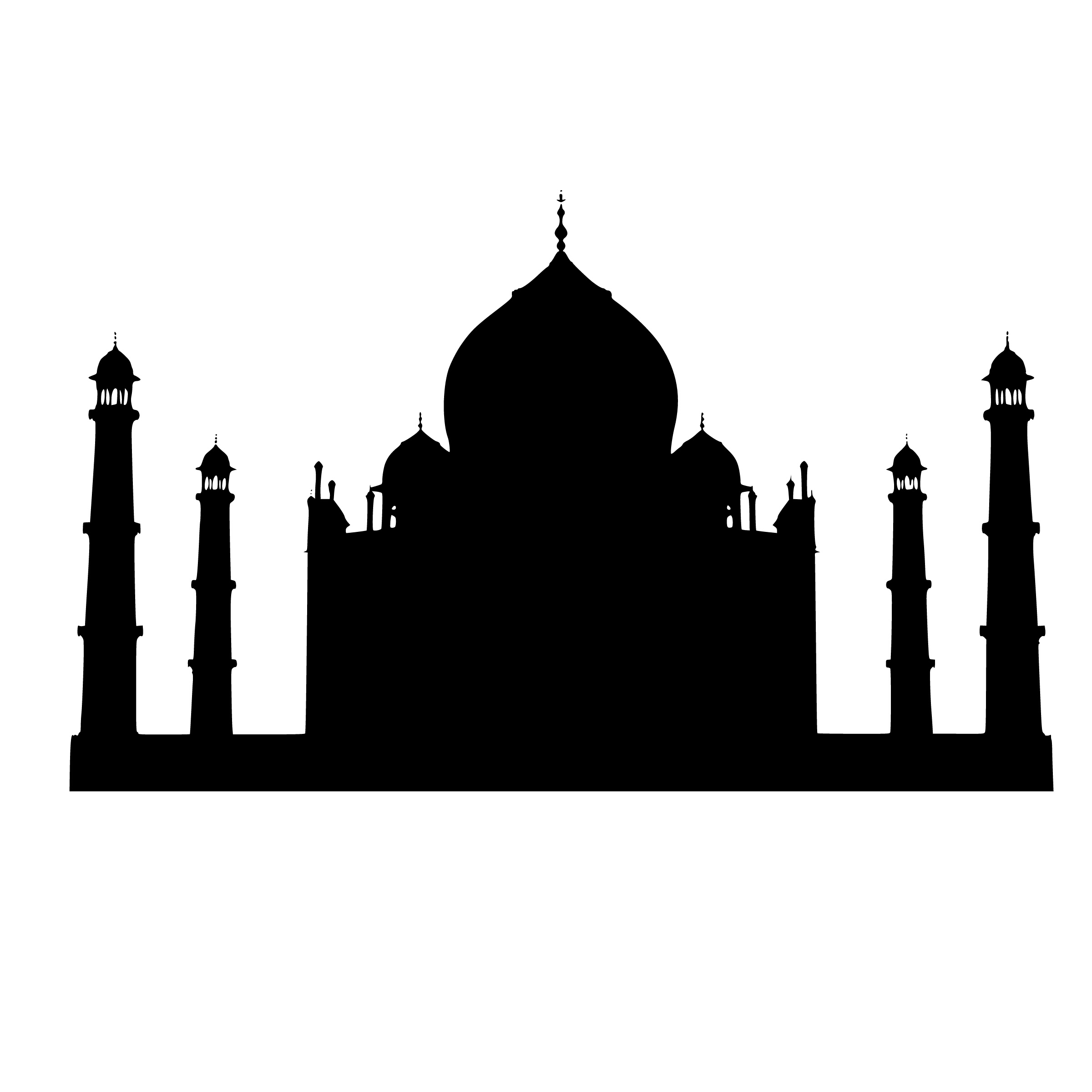 silhouette of india black silhouette of the country india with the contour silhouette of india